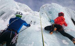 wspinanie lód sport ekstremalny